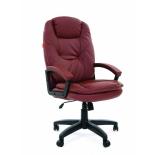 кресло офисное Chairman 668 LT, коричневое