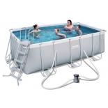 бассейн каркасный Bestway 56457, армированный ПВХ