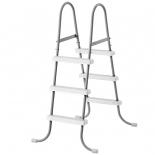 лестница для бассейна Intex 28065 107 см (метал)