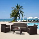комплект садовой мебели Afina AFM-5018B  (для отдыха) Brown