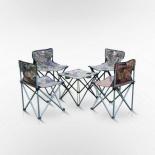 комплект садовой мебели Afina Пикник с сумкой-чехлом LFT-3567 (4+1)