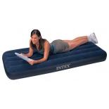 матрац надувной INTEX  Classic Downy Airbed Fiber-Tech 64756