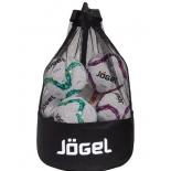 сетка для переноски мячей Jogel JBM-1804-061, черный/белый