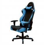 компьютерное кресло DxRacer OH/RE0/NB черное/голубое