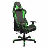 компьютерное кресло DxRacer OH/FE08/NE черное/зеленое