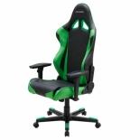 компьютерное кресло DxRacer OH/RE0/NE черное/зеленое