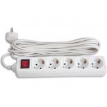 сетевой фильтр Buro 500SH - 10 - W, белый