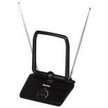 антенна телевизионная Hama H-44273 комнатная HD 40, черная