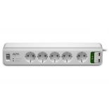 сетевой фильтр APC PM5U-RS, белый
