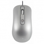 мышка Oklick 155M optical mouse, серебристая