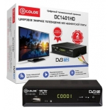 tv-тюнер D-Color DC1401HD, черный