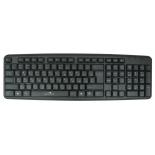клавиатура Oklick 130M, черная