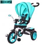 Трехколесный велосипед ICON 6 RT Luxe Aluminium aqua