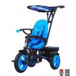 Трехколесный велосипед RT Icon Lexus trike original evoque by Natali Prigaro Eva Blue topaz (голубой топаз)
