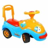 товар для детей ОР119 Каталка RT Луноходик с музыкальным рулем синяя