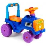 товар для детей Каталка RT Трактор В сине-оранжевый