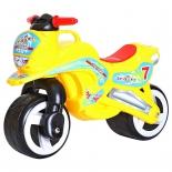 беговел 11-006  RT MOTORCYCLE 7 желтый