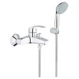 смеситель для ванны Grohe Eurosmart New 33302002, с душевым набором