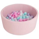 игровой комплекс Сухой бассейн Romana Airpool ДМФ-МК-02.53.01, розовый/розовые шарики
