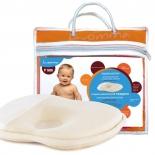 подушка Luomma для новорожденных с эффектом памяти LumF-505 (23 х 25 см)