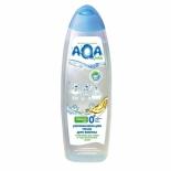 аксессуар для купания детей Увлажняющая пена AQA Baby New с маслами для сухой и чувствительной кожи 500 мл