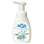 аксессуар для купания детей Пенка AQA Baby New и шампунь с маслами для сухой и чувствительной кожи 250 мл