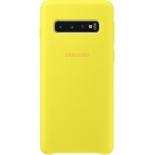 Чехол для смартфона Samsung для Samsung Galaxy S10 Silicone Cover желтый, купить за 1 365руб.