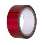 лента гимнастическая Amely AGS-301 20 ммx15 м, красная