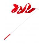 лента гимнастическая Amely AGR-201 4м, с палочкой 46 см, red