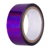 лента гимнастическая Amely AGS-301 20 ммx15 м, фиолетовый