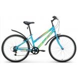 велосипед Altair MTB HT 26 1.0 Lady (2018), бирюзовый