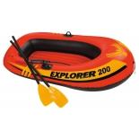 лодка надувная Intex Explorer-200 Set (58331) двухместная