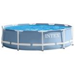 бассейн каркасный Intex Prism Frame Pool 26706 с насосом и лестницей