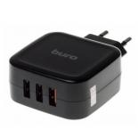 Зарядное устройство Buro TJ-285B QC3 черное, купить за 780руб.