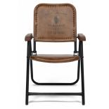 кресло складное TetChair Secret De Maison Takoma (2111) кожа буйвола, Античный светлый