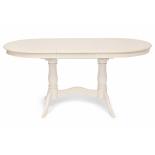 стол обеденный TetChair Eva (EV-T4EX) 120+39х80х75см, слоновая кость