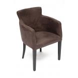 Кресло мягкое TetChair Knez  Венге, экокожа - коричневый / Антик (Monaco 300), купить за 9 690руб.