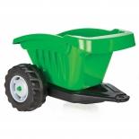 педальная машина Прицеп для педального трактора Pilsan (07-317),  зеленый