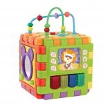 игрушка для малыша Развивающий центр-конструктор Жирафики (939619) Мегакуб