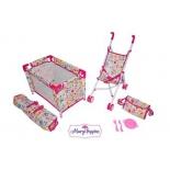 транспорт для кукол Набор 3 в 1 Mary Poppins Фантазия 67327