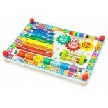 игрушка для малыша Бизиборд Alatoys Веселая радуга (ББ503)
