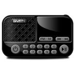 портативная акустика Sven PS-25, черная