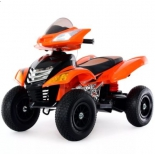 электромобиль Квадроцикл RiverToys Е005КХ-A, оранжевый