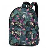 рюкзак городской Nosimoe 8304-02 тропики, черный
