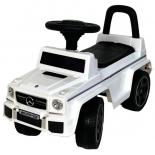 каталка RiverToys Mercedes-Benz G63 JQ663, белая