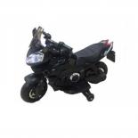 электромобиль RiverToys Moto E222KX, черный