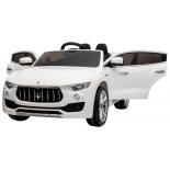 электромобиль RiverToys Maserati Levante А008АА, белый
