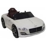 электромобиль RiverToys Bentley EXP-12, белый