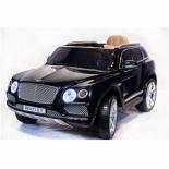 электромобиль RiverToys Bentley Bentayga JJ2158, черный