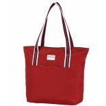 сумка женская Nosimoe 057-06D, красный-цвет.полосы